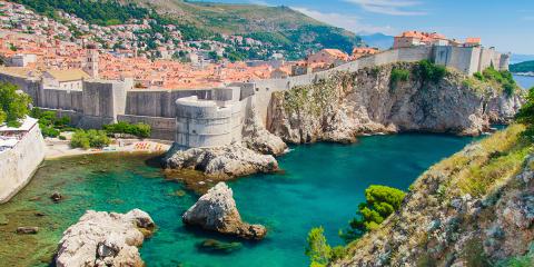 Croatia-Dubrovnik-City-Walls