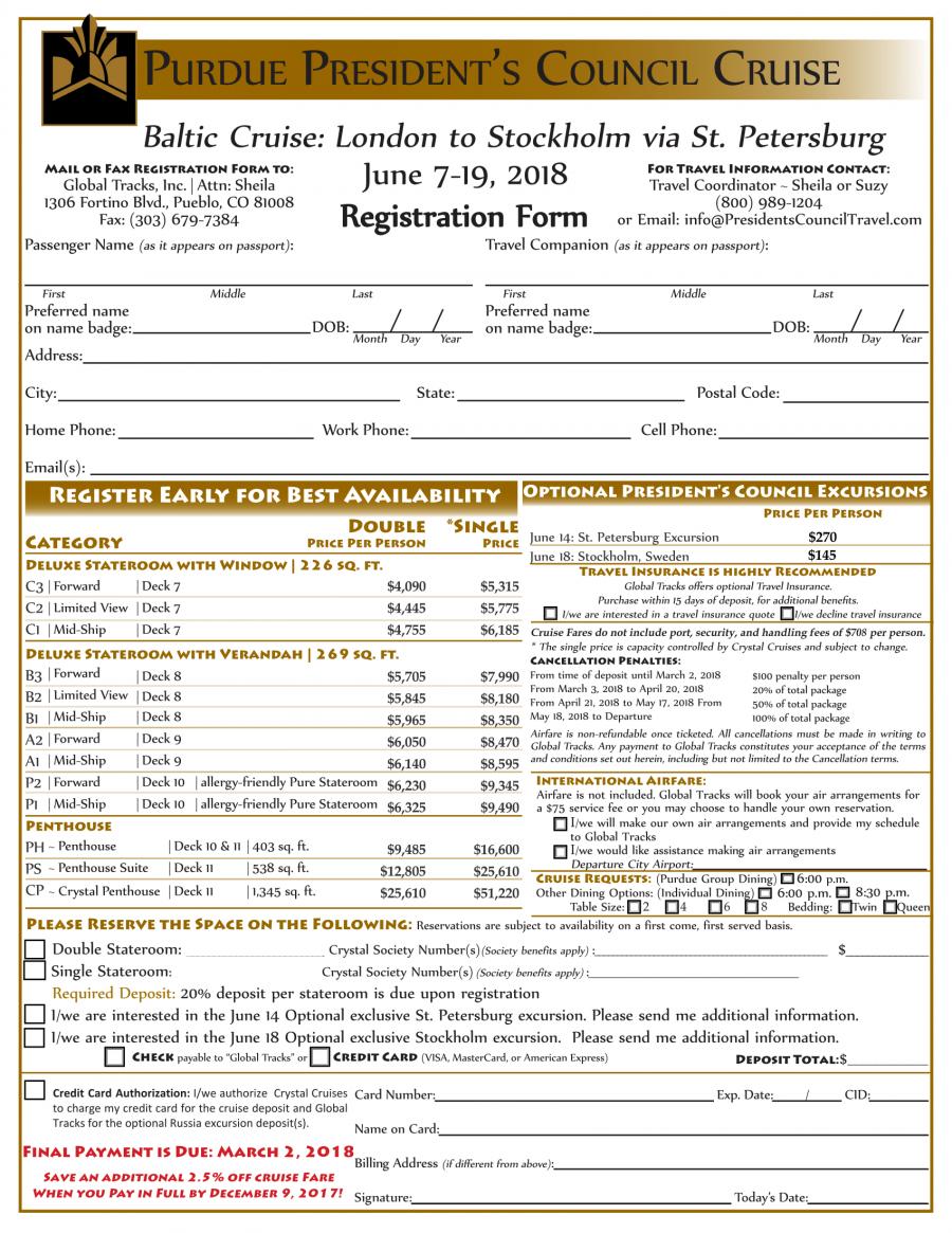 Registration Form - Baltic 2018-1