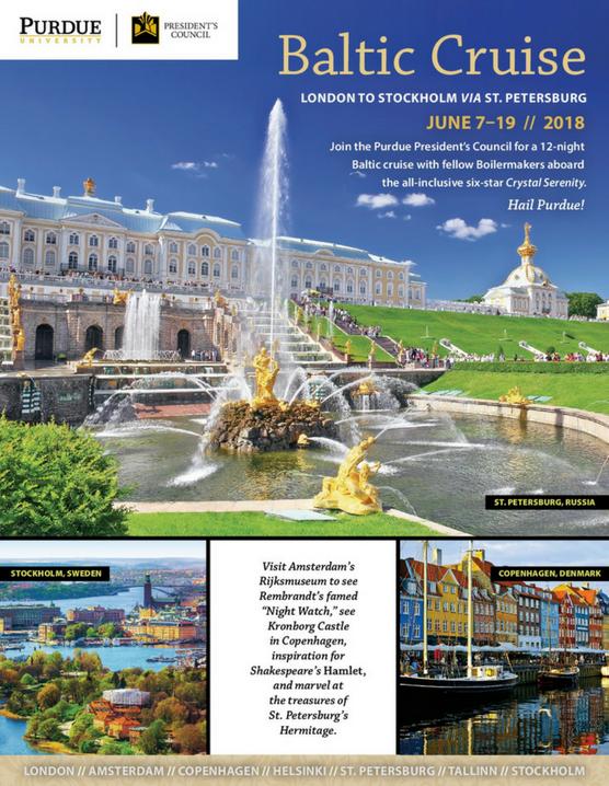 Baltic Cruise 2018 – Presidents Council Travel Programs